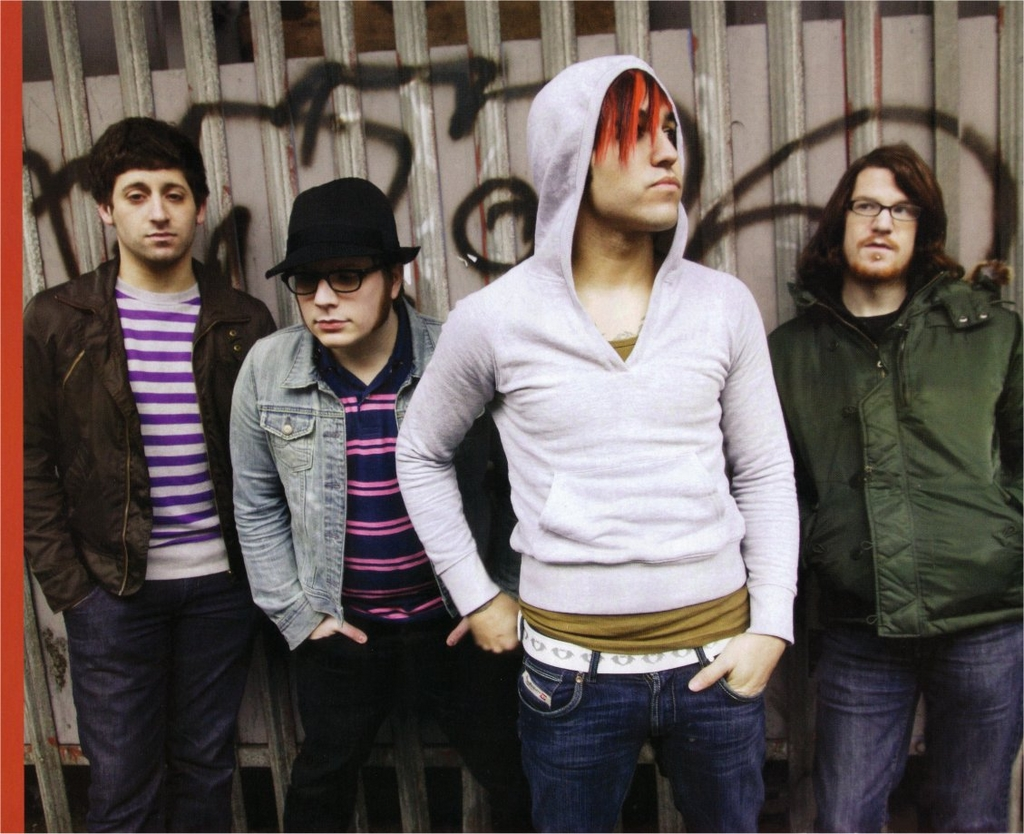Nude fall out boy